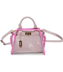 like dreams clear retro colorway handbag