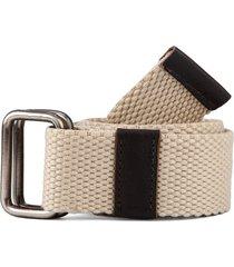cinturón beige-café colore