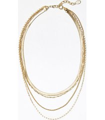 loft layered chain necklace