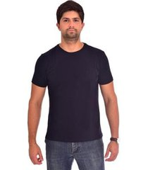 camiseta básica lisa luiz figueredo masculina - masculino