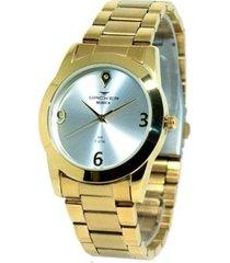 relógio feminino backer analógico 3992145f