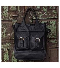 leather travel bag, 'globetrotter' (mexico)