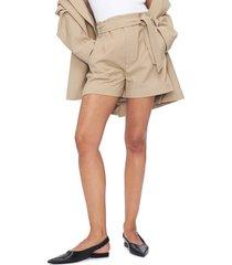 women's anine bing kinsley tie waist shorts