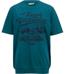 t-shirt men plus rökblå