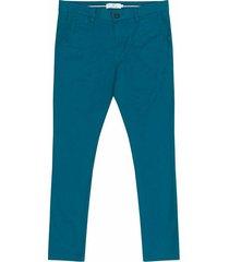 pantalón casual 440 azul bota recta regular fit para hombre 87647