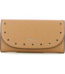 liu jo womens beige wallet