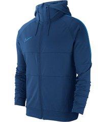 chaqueta de hombre m nk dry acdmy jkt hd i96 k nike azul