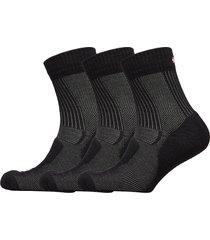 merino wool light hiking socks 3 pack underwear socks regular socks svart danish endurance