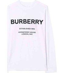 burberry white sweater