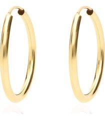 orecchini a cerchio in oro giallo sottili per donna