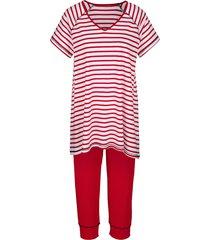 pyjama simone rood::wit