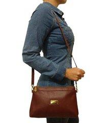 bolsa carteira topgrife clutch transversal feminina - feminino