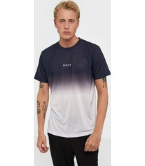 nicce fade t-shirt t-shirts & linnen navy