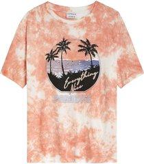 catwalk junkie 2102020220 547 t-shirt paradise island coral quartz