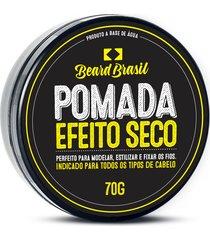 pomada beard brasil efeito seco 70 gr - kanui