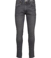 slhslim-leon 3035 mid.grey st jns j noos slimmade jeans grå selected homme
