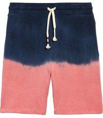 men's sol angeles dip dye shorts, size x-large - red