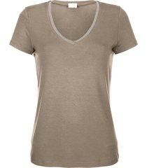 shirt alba moda taupe