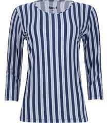 camiseta manga 3/4 rayas verticales