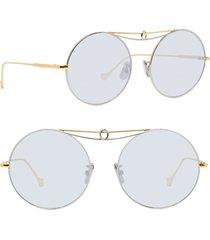 women's loewe 56mm round sunglasses -