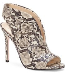jessica simpson javrey peep-toe high-heel shooties women's shoes