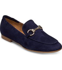 shoes 4527 loafers låga skor blå billi bi