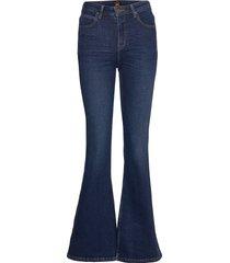 breese jeans utsvängda blå lee jeans
