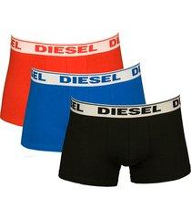 diesel shawn 3-pak boxershorts rood