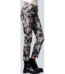 broek alba moda kaki::grijs