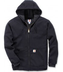 carhartt vest men rutland lined sweatshirt black-m