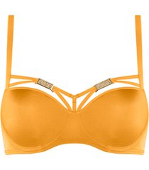 free love plunge balconette bh | wired padded kumquat orange - 70b