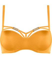 free love plunge balconette bh | wired padded kumquat orange - 85f