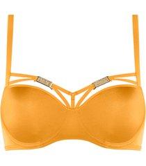free love plunge balconette bh | wired padded kumquat orange - 75c