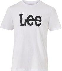 t-shirt woobly logo tee