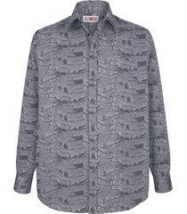 overhemd roger kent zilvergrijs