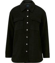 jacka/skjortjacka slftessa wool shirt jacket