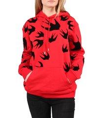 alexander mcqueen sweatshirt rood