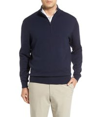 cutter & buck lakemont half zip sweater, size xlt in liberty navy at nordstrom