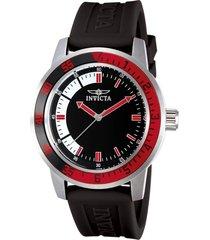 reloj invicta negro modelo 128ke para hombres, colección specialty
