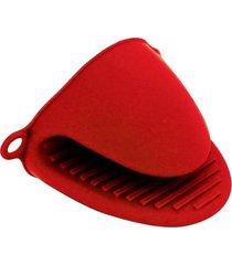 kit 2 luvas tã©rmica pegador de silicone para fogã£o forno panelas travessas - vermelho - dafiti