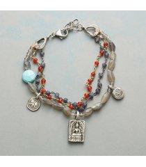 peace, love & life bracelet