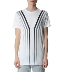 diesel black gold tyrone claw white t-shirt