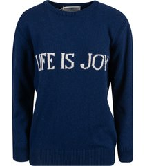 alberta ferretti life is joy sweater