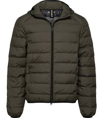 asp jacket man fodrad jacka grön ecoalf