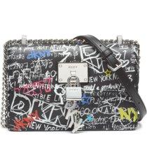 dkny elissa flap shoulder bag