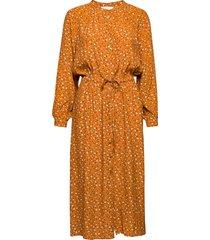 adaleepw dr jurk knielengte oranje part two