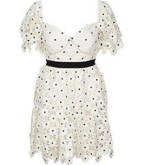 daisy mini-jurk