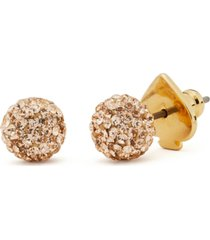 kate spade new york gold-tone brilliant statement stud earrings