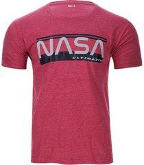 camiseta nasa color rojo, talla l