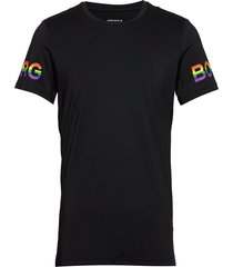 tee borg borg t-shirts short-sleeved svart björn borg